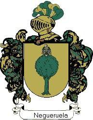 Escudo del apellido Negueruela
