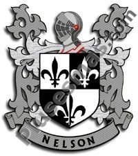Escudo del apellido Nelson