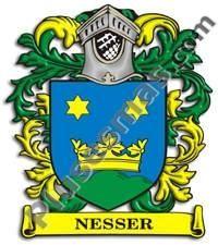 Escudo del apellido Nesser