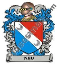 Escudo del apellido Neu