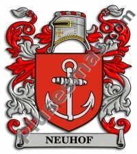 Escudo del apellido Neuhof