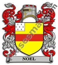 Escudo del apellido Noel