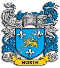 Escudo del apellido North
