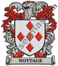 Escudo del apellido Nottage