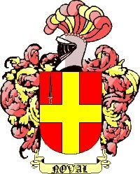 Escudo del apellido Noval