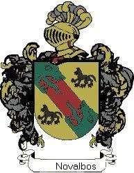 Escudo del apellido Novalbos