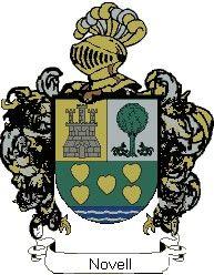 Escudo del apellido Novell