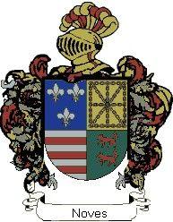 Escudo del apellido Noves