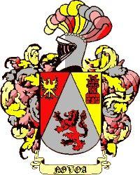 Escudo del apellido Novoa