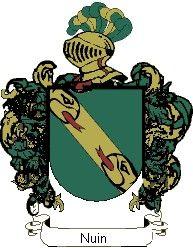 Escudo del apellido Nuin