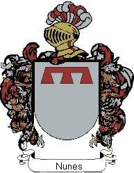 Escudo del apellido Nunes