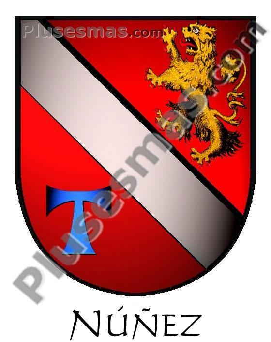 Escudo del apellido Nunez
