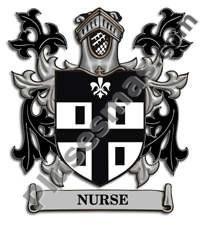 Escudo del apellido Nurse