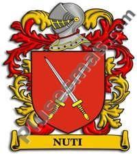 Escudo del apellido Nuti