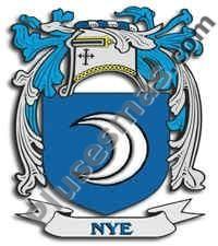 Escudo del apellido Nye