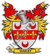 Escudo del apellido Oakley