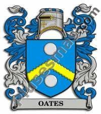 Escudo del apellido Oates