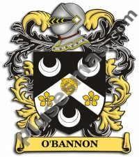 Escudo del apellido Obannon