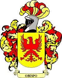 Escudo del apellido Obispo