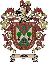 Escudo del apellido Obón