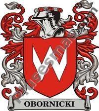 Escudo del apellido Obornicki