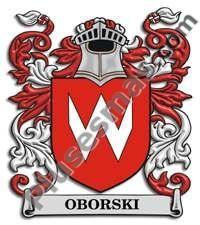 Escudo del apellido Oborski