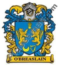 Escudo del apellido Obreaslain