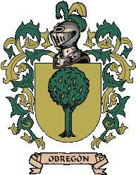 Escudo del apellido Obregón