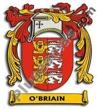 Escudo del apellido Obriain