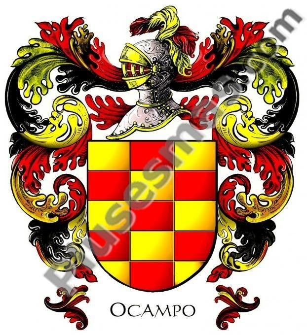 Escudo del apellido Ocampo