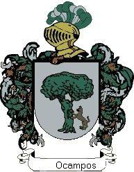 Escudo del apellido Ocampos