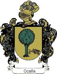 Escudo del apellido Ocaña