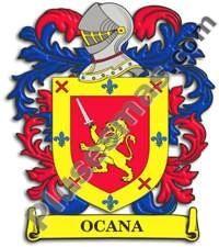 Escudo del apellido Ocana