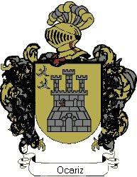Escudo del apellido Ocariz