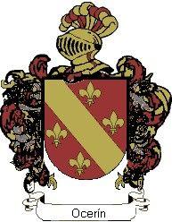 Escudo del apellido Ocerín