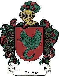 Escudo del apellido Ochaíta