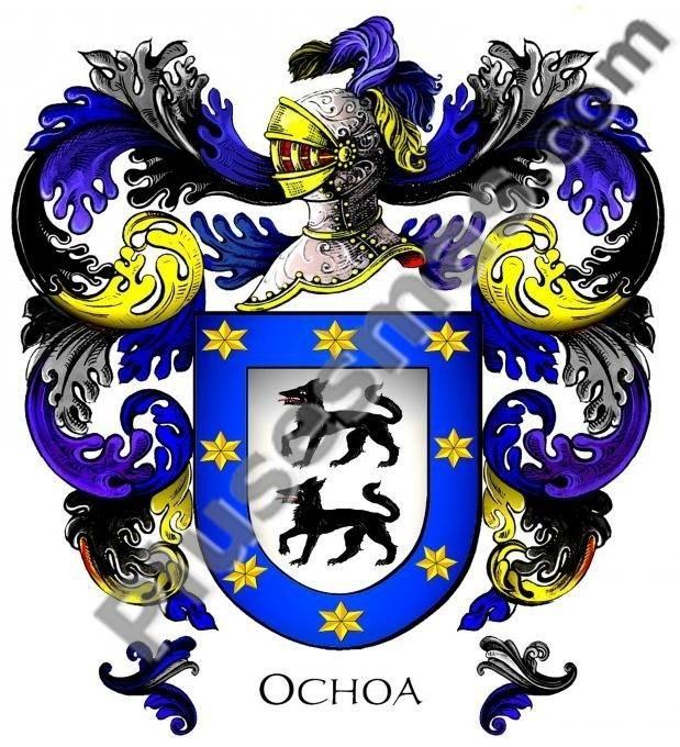 Escudo del apellido Ochoa