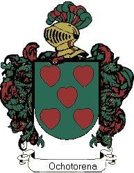 Escudo del apellido Ochotorena