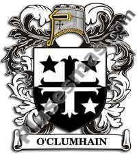 Escudo del apellido Oclumhain