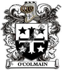 Escudo del apellido Ocolmain