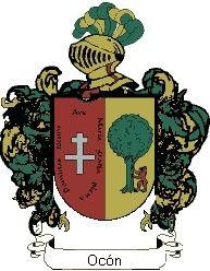 Escudo del apellido Ocón