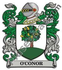Escudo del apellido Oconor