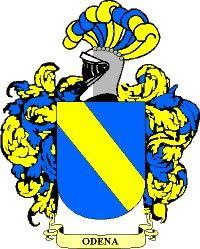 Escudo del apellido Odena
