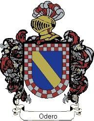 Escudo del apellido Odero