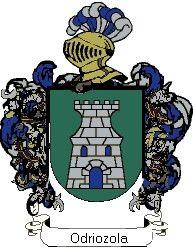 Escudo del apellido Odriozola