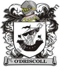 Escudo del apellido Odriscoll