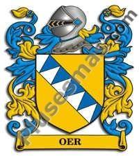 Escudo del apellido Oer
