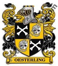 Escudo del apellido Oesterling