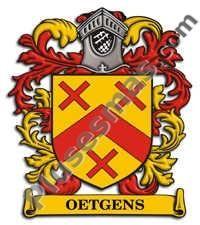 Escudo del apellido Oetgens
