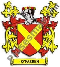 Escudo del apellido Ofarren